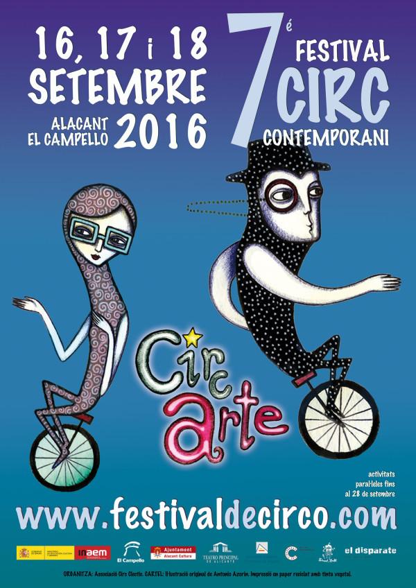 Cartel CIRCARTE 2016