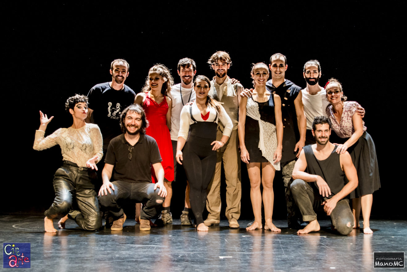 Circarte 2018 - Foto ManoMC - Gala Circ d'Ací - Elenco de artistas